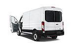 Car images of a 2018 Ford Transit 250 Van Med Roof Sliding Pass. 130 WB 2 Door Van Doors