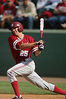 April 3 2010: Stephen Piscotty of the Stanford Cardinal during game against the UCLA Bruins at UCLA in Los Angeles,CA.  Photo by Larry Goren/Four Seam Images