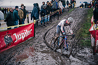Tom Pidcock (GBR/TPR)<br /> <br /> Superprestige cyclocross Hoogstraten 2019 (BEL)<br /> Elite Men's Race<br /> <br /> ©kramon