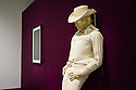 """London, UK. 21.10.2013. POP ART DESIGN exhibition opens at the Barbican Art Gallery and runs from 22nd October to 9th February 2014. Picture shows: """"Cowboy"""" by Jann Haworth, 1964. Photograph © Jane Hobson."""