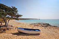 Fanos beach of Koufonissi island in Cyclades, Greece