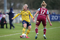 Beth Mead of Arsenal during West Ham United Women vs Arsenal Women, Women's FA Cup Football at Rush Green Stadium on 26th January 2020