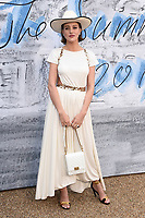 Eliza Cummings<br /> arriving for The Summer Party 2019 at the Serpentine Gallery, Hyde Park, London<br /> <br /> ©Ash Knotek  D3511  25/06/2019
