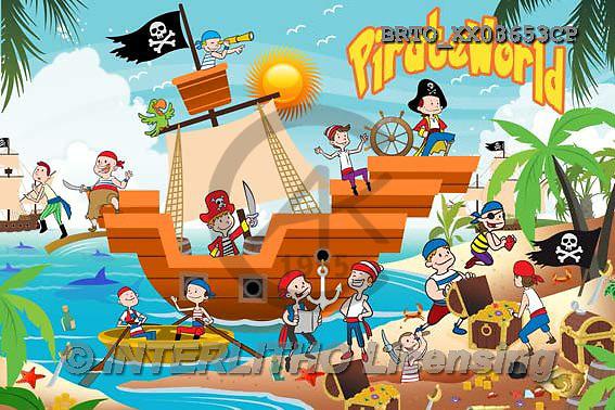 Alfredo, CUTE ANIMALS, LUSTIGE TIERE, ANIMALITOS DIVERTIDOS, puzzle,pirates,ship, paintings+++++,BRTOXX03653CP,#AC#
