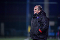 Anderlecht head coach Patrick Wachel pictured during a female soccer game between RSC Anderlecht Dames and Eendracht Aalst Ladies  on the fourth matchday of the 2020 - 2021 season of Belgian Womens Super League , Tuesday 13 th of October 2020  in ANDERLECHT , Belgium . PHOTO SPORTPIX.BE | SPP | STIJN AUDOOREN