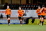 Dundee United v St Johnstone…12.01.21   Tannadice     SPFL<br />Lawrence Shankland celebrates his goal<br />Picture by Graeme Hart.<br />Copyright Perthshire Picture Agency<br />Tel: 01738 623350  Mobile: 07990 594431