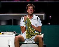 Februari 11, 2015, Netherlands, Rotterdam, Ahoy, ABN AMRO World Tennis Tournament, Robin Haase (NED) <br /> Photo: Tennisimages/Henk Koster