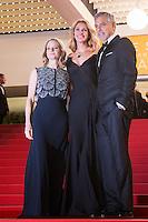 Jodie Foster, Julia Roberts, George Clooney - CANNES 2016 - DESCENTE DES MARCHES DU FILM 'MONEY MONSTER