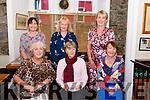 Wk 37 Mary of the Angels 5998<br /> Meeting up in The Bianconi Inn, Killorglin to celebrate four birthdays, Staff from St. Mary of the Angels<br /> seated L-R: Kathleen Cronin, Theresa O'Sullivan & Tess Clifford<br /> standing L-R Eileen McGillicuddy, Eileen Carey & Ann Sugrue-O'Brien<br /> <br /> Attn: Breda<br /> (Birthdays: Tess, Ann, Eileen McGillicuddy  Contact Ann O'Brien 086 215 4575 )