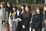 """TWICE, Nov 16, 2018 : K-pop girl group TWICE attends the rehearsal of the KBS program """"Music Bank"""" in Seoul, South Korea on November 16, 2018. (Photo by Pasya/AFLO)"""