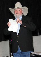 06 July 2020 - Country music and southern rock legend Charlie Daniels has passed away after suffering a stroke. The Grand Ole Opry member and Country Music Hall of Famer was 83. File Photo: 05 March 2008 - Nashville, Tennessee - Charlie Daniels. Charllie Daniels presented Clay Walker with the Humanitarian Award during Country Radio Seminar (CRS). Photo Credit: Randi Radcliff/AdMedia