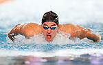 Wilrich Coetzee. Session 8 of the AON New Zealand Swimming Champs, National Aquatic Centre, Auckland, New Zealand. Friday 9 April 2021 Photo: Simon Watts/www.bwmedia.co.nz