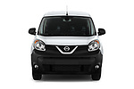 Car photography straight front view of a 2020 Nissan NV250 Visia 5 Door Car Van Front View