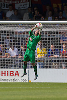 Julian Speroni of Crystal Palace in action during the Friendly match between Barnet and Crystal Palace at The Hive, London, England on 11 July 2015. Photo by David Horn.