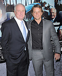 Matt Damon and Jerry Weintraub attends The HBO Premiere of HIS WAY Documentary held at Paramount Theater in Los Angeles, California on March 22,2011                                                                               © 2010 DVS / Hollywood Press Agency