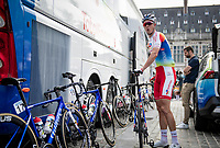 Niki Terpstra (NED/TotalEnergies) pre-race<br /> <br /> 55th Grote Prijs Jef Scherens - Rondom Leuven 2021 (BEL)<br /> <br /> One day race from Leuven to Leuven (190km)<br /> ridden over the final circuit of the 2021 World Championships road races <br /> <br /> ©kramon