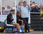 18.07.18 Cove Rangers v Hearts: Craig Levein