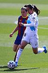 Liga IBERDROLA. Game 26.<br /> FC Barcelona vs RC Deportivo: 9-0.<br /> Lorena Bedoya vs Andrea Pereira.
