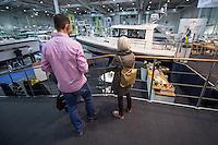 """55. Internationale Bootsmesse """"hanseboot"""" vom 25. Oktober bis 2. November 2014 zeigt alles rund um den Bootssport. Von Luxusyachten bis zum Kanu oder den einfachen Ruderboot und dem entsprechenden Zubehoer.<br /> 27.10.2014, Hamburg<br /> Copyright: Christian-Ditsch.de<br /> [Inhaltsveraendernde Manipulation des Fotos nur nach ausdruecklicher Genehmigung des Fotografen. Vereinbarungen ueber Abtretung von Persoenlichkeitsrechten/Model Release der abgebildeten Person/Personen liegen nicht vor. NO MODEL RELEASE! Don't publish without copyright Christian-Ditsch.de, Veroeffentlichung nur mit Fotografennennung, sowie gegen Honorar, MwSt. und Beleg. Konto: I N G - D i B a, IBAN DE58500105175400192269, BIC INGDDEFFXXX, Kontakt: post@christian-ditsch.de<br /> Urhebervermerk wird gemaess Paragraph 13 UHG verlangt.]"""