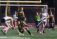 San Diego CA, USA.  15, Oct 2014:  Mission Bay High School Womens Field Hockey take on Point Loma High Womens Field Hockey, JV.
