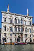 Italie, Vénétie, Venise:    Palais du Grand Canal // Italy, Veneto, Venice: