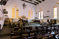 Christ Church Interior, Dutch, 1753.  Melaka, Malaysia.