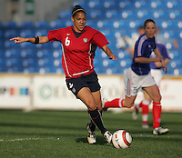 MAR 13, 2006: Faro, Portugal:  Natasha Kai