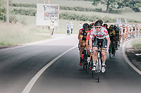 André Greipel (DEU/Lotto-Soudal) leading the way<br /> <br /> Ster ZLM Tour (2.1)<br /> Stage 4: Hotel Verviers > La Gileppe (Jalhay)(190km)