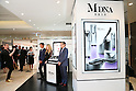 Madonna promotes her cosmetic line MDNA Skin in Tokyo