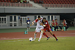 Thailand vs Yemen during the 2014 AFC U19 Mens Championship group A match on October 1, 2015 at the Wunna Theikdi Stadium, in Yangon, Myanmar. Photo by World Sport Group