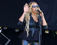 Soul II Soul live at the Pub in the Park's Drive In Garden Party at Knebworth Park, Hertfordshire on Saturday 12th September 2020<br /> <br /> Photo by Keith Mayhew