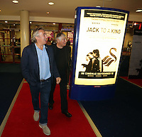 """Pictured: Jeff Towns. Sunday 14 September 2014<br /> Re: Film premiere of """"Jack To A King"""" depicting the recent history pf Swansea City Football Club, at the Odeon Cinema, Swansea, south Wales, UK."""
