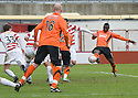 05/02/2011   Copyright  Pic : James Stewart.sct_jsp001_hamitlon_v_dundee_utd  .::  PRINCE BAUBEN SCORES THE THIRD  ::.James Stewart Photography 19 Carronlea Drive, Falkirk. FK2 8DN      Vat Reg No. 607 6932 25.Telephone      : +44 (0)1324 570291 .Mobile              : +44 (0)7721 416997.E-mail  :  jim@jspa.co.uk.If you require further information then contact Jim Stewart on any of the numbers above.........