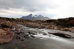 Cuillin Hills from near Sligachan, Isle of Skye, Scotland