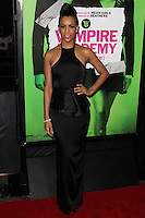 """LOS ANGELES, CA - FEBRUARY 04: Dominique Tipper at the Los Angeles Premiere Of The Weinstein Company's """"Vampire Academy"""" held at Regal Cinemas L.A. Live on February 4, 2014 in Los Angeles, California. (Photo by Xavier Collin/Celebrity Monitor)"""