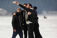 Selfie du jry avec Jean-Paul Rouve. - 24EME FESTIVAL DU FILM FANTASTIQUE DE GERARDMER