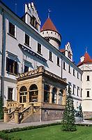 Tschechien, Konopiste bei Prag, Schloss
