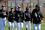 Colorado Rockies  during the Spring Trainig 2013 in Sports Complex Salt River Fields at Talking Stick in Arizona. February 24, 2013