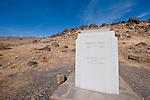 Monument memorializing Samuel Hill who built the Stonehenge Memorial in Maryhill, Washington