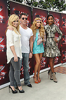 """LOS ANGELES, CA - JULY 11: """"The X Factor"""" - Meet The Judges Red Carpet Event at Galen Center on July 11, 2013 in Los Angeles, California. (Photo by Rob Latour/Celebrity Monitor)"""