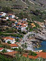 Bucht und Ort Chiessi, Elba, Region Toskana, Provinz Livorno, Italien, Europa<br /> Bay and village Chiessi, Elba, Region Tuscany, Province Livorno, Italy, Europe