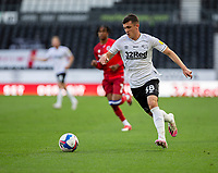 12th September 2020; Pride Park, Derby, East Midlands; English Championship Football, Derby County versus Reading; Jason Knight of Derby County running with the ball at his feet