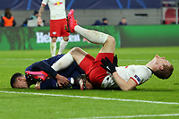Lukas Klostermann of RB Leipzig and Dele Alli of Tottenham Hotspur during RB Leipzig vs Tottenham Hotspur, UEFA Champions League Football at the Red Bull Arena on 10th March 2020