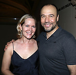 NEW YORK, NY - July 10, 2013:   Rebecca Luker and Danny Burstein attending the Opening Night Performance Party for 'The Cradle Will Rock' , New York City Center?s new Encores! Off-Center Series.