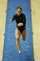 15 January 2006: Kelly Fee during Stanford's gymnastics meet at Maples Pavilion in Stanford, CA.