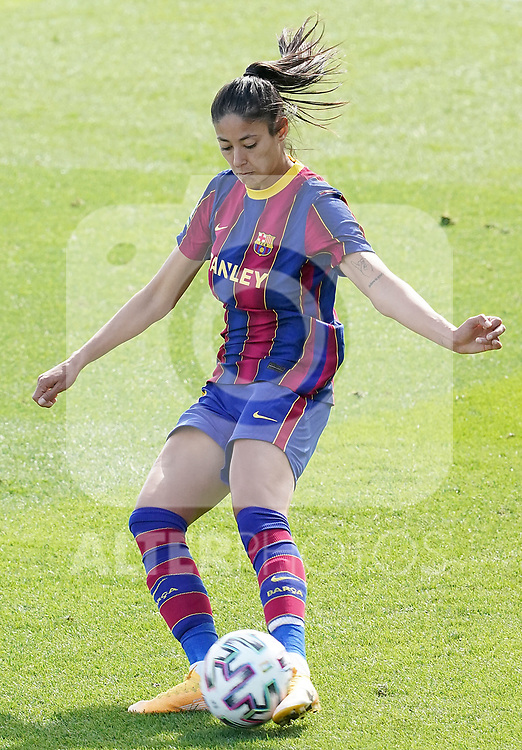 First official match and first classic in the history of women's Real Madrid.<br /> FC Barcelona's Leila Ouahabi during Spanish Female League match. October 4,2020. (ALTERPHOTOS/Acero)