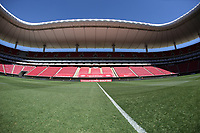 ZAPOPAN, MEXICO - MARCH 21: General view of the stadium before a game between Dominican Republic and USMNT U-23 at Estadio Akron on March 21, 2021 in Zapopan, Mexico.