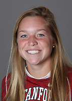 STANFORD, CA - OCTOBER 29:  Leslie Foard of the Stanford Cardinal women's lacrosse team poses for a headshot on October 29, 2009 in Stanford, California.
