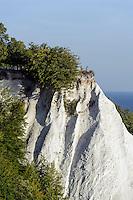 Königstuhl an der Kreideküste im Nationalpark Jasmund auf der Insel Rügen, Mecklenburg-Vorpommern, Deutschland