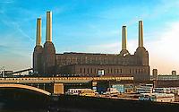 London: Battersea Power Station, Near-side elevation. Photo '79.